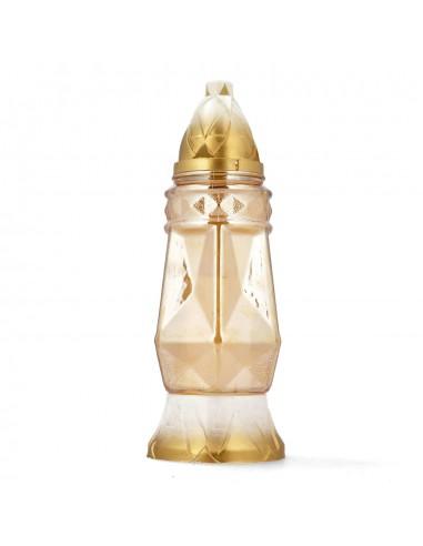 Znicz złoty klasyczny elegancki 30cm