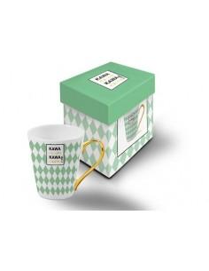 Kubek ceramiczny Kawa nie pyta Kawa rozumie !!!!