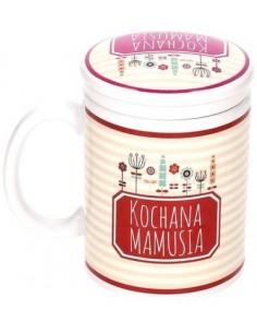 Kubek Ceramiczny z zaparzaczem Kochana Mamusia!!!!