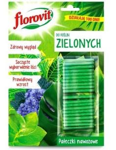 Florovit pałeczki nawozowe do roślin zielonych 20szt