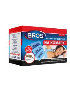wkłady do elektro na komary Bros 20 szt