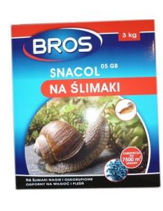 Snacol 05 GB zwalcza ślimaki Bros 3Kg