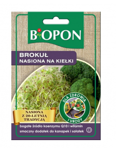 Nasiona na kiełki Brokuł