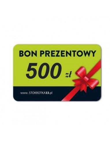 Bon Prezentowy 500zł
