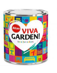 Farba ALTAX Viva Garden 250ml Niebieska Funkia