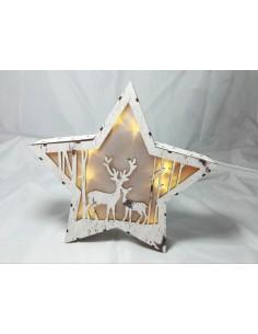 Świąteczna Gwiazda Led  000011
